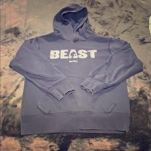 Boys Nike Beast Football Hoodie